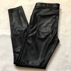 H&M Leather Pants